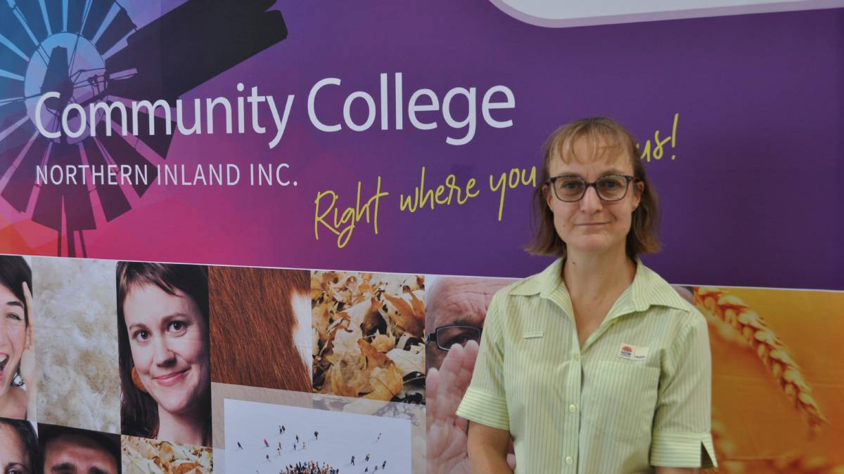 GO GETTER: Educators say Teressa Gass' determination shone brightly throughout the duration of her Certificate III in Individual Support specialising in Ageing course.