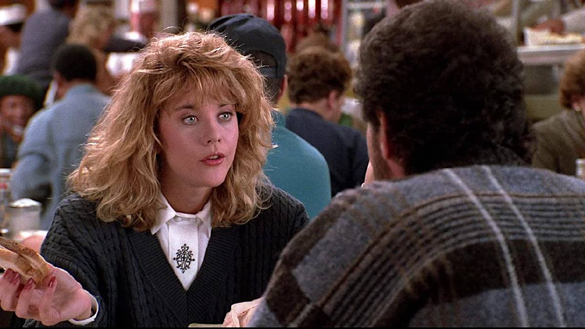 Meg Ryan and Billy Crystal in When Harry Met Sally. Picture: Supplied